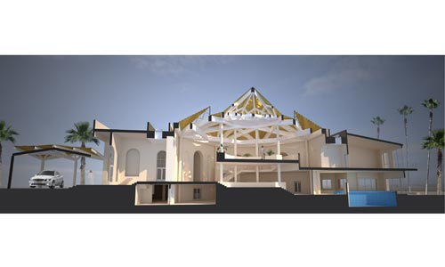 Restayling proposal of Villa in Dubai