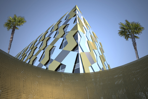 Concept of Abu Dhabi Towers 4