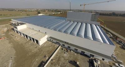 Lameri spa manufacturing plant - Castelvetro Piacentino PC Italy