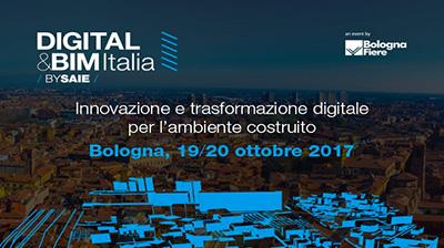 bimO finalista al concorso BIM&DIGITAL Award 2017 del DIGITAL&BIM Italia by SAIE