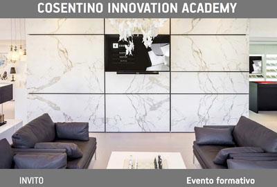 Introduzione al BIM Cosentino Innovation Accademy con bimO open innovation, Milano 4 aprile 2018