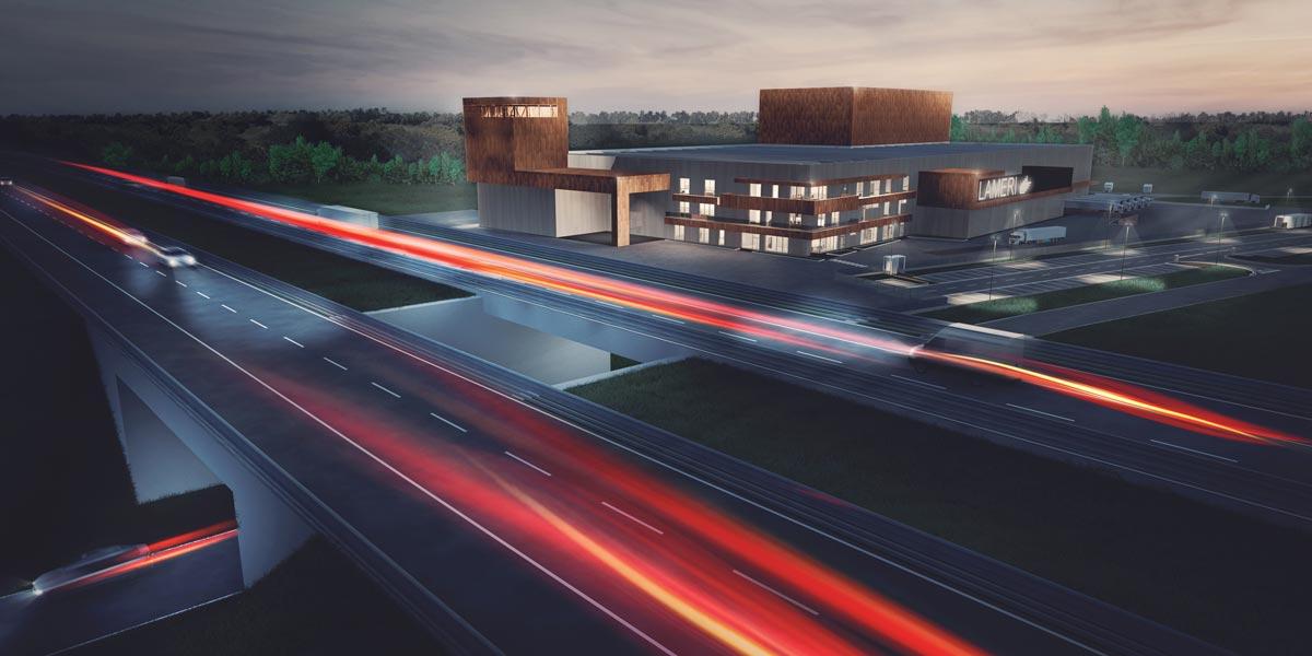 Nuovo stabilimento industriale di Lameri Spa - Castelvetro Piacentino PC - Italy