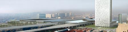 Nuovo centro di Novi Beograd Serbija