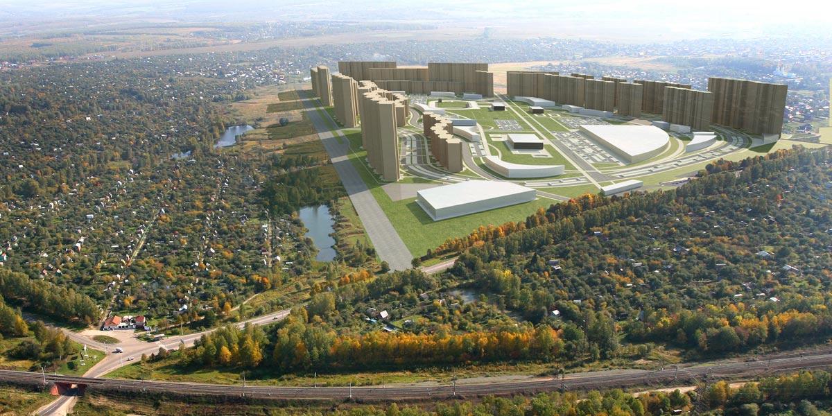 Masterplan of Krasnie Vorota- Tula - Russia