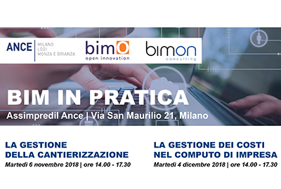 Seminars ANCE Milan - BIM IN PRACTICE - The management of the construction site