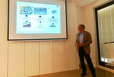 Seminar at the GROHE showroom in Milan