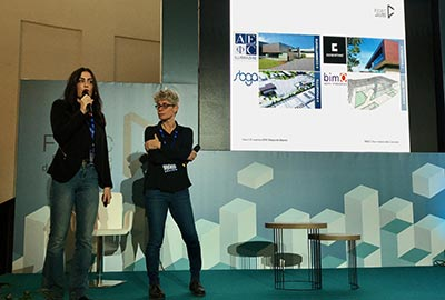 bimO open innovation participated in the FIDEC the Italian Building Forum