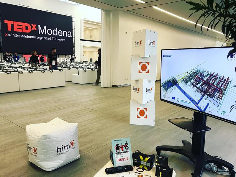 bimO interviene al TEDxwoman presso la Florim Gallery a Fiorano modenese con un corner sull'innovazione digitale