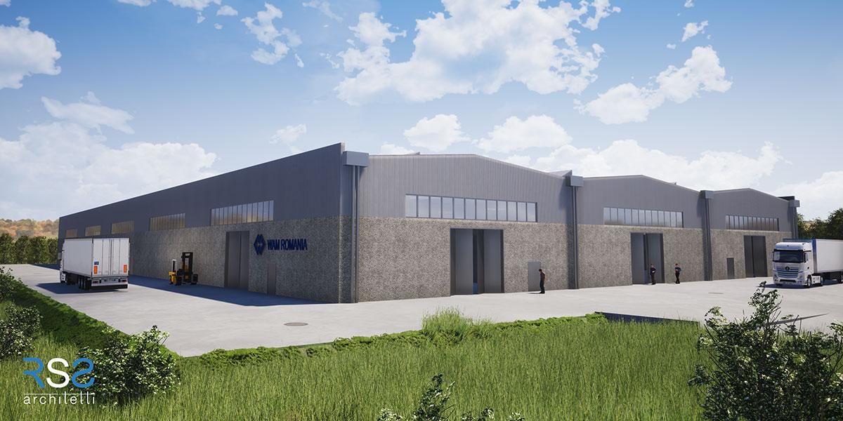 Nuovo stabilimento industriale di WAM Romania - Banesti RO