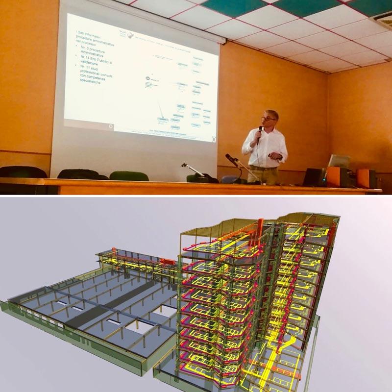 Seminario sul BIM all'Ordine Ingegneri Modena