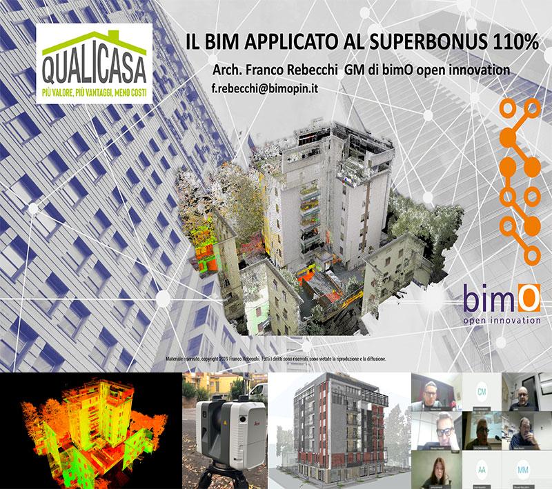 Il BIM applicato al SUPERBONUS 110% bimO interviene al corso di formazione