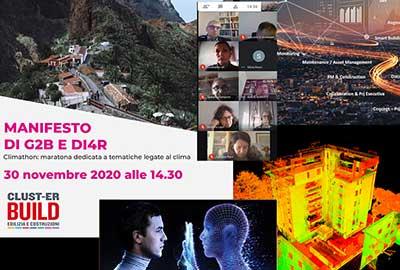 bimO open innovation partecipa alla Climate Marathon promossa dalla Value Chain G2B e DI4R del Clust-ER Build Edilizia e Costruzioni della Regione Emilia-Romagna