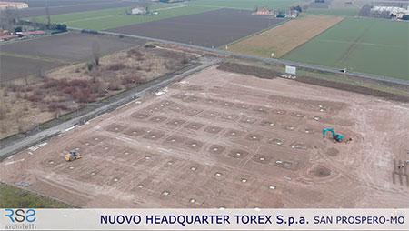 Iniziati i Lavori del Nuovo Headquarter di TOREX Spa