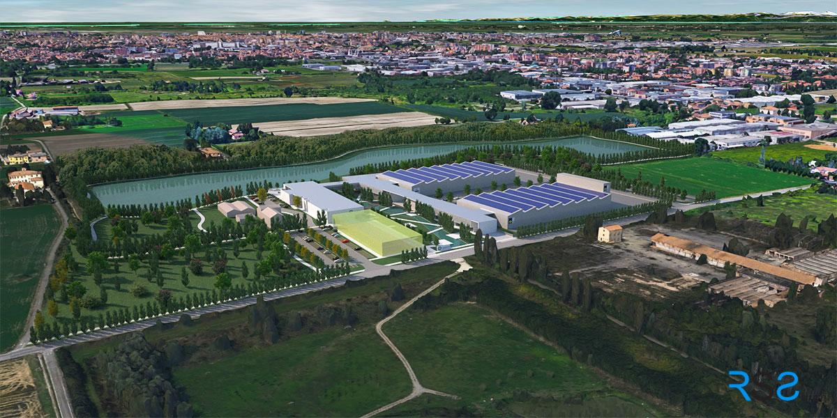 INNOVATION HALL TECHNOPARK - Parco Tecnologico di Wamgroup Spa Modena Italy
