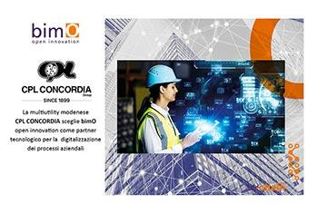 CPL CONCORDIA sceglie bimO come partner tecnologico per la digitalizzazione dei processi aziendali