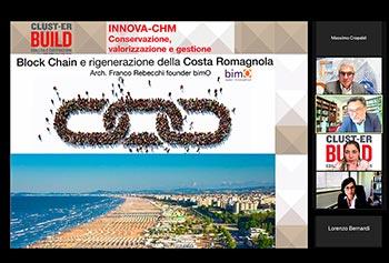 il Co-Founder e GM di bimO Arch. Franco Rebecchi e intervenuto al webinar di INNOVA-CHM sul tema: BLOCK CHAIN E RIGENERAZIONE DELLA COSTA ROMAGNOLA