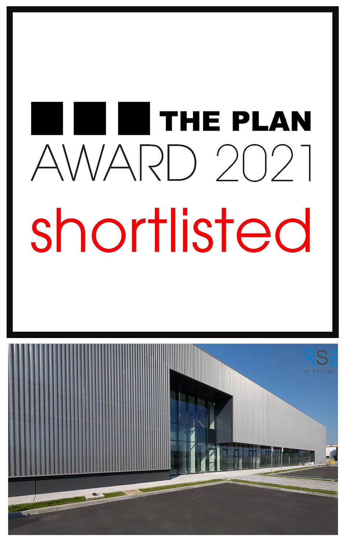 Il progetto NEW OLI HEADQUARTER finalista per il premio internazionale THE PLAN AWARD 2021.